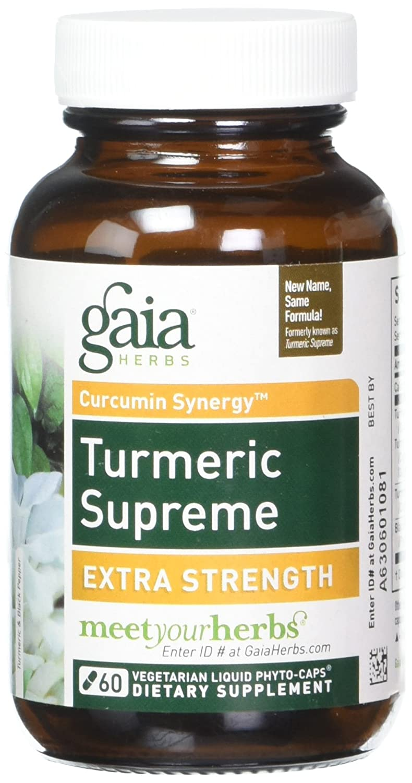 Turmeric Supreme Gaia Herbs 60 VCaps