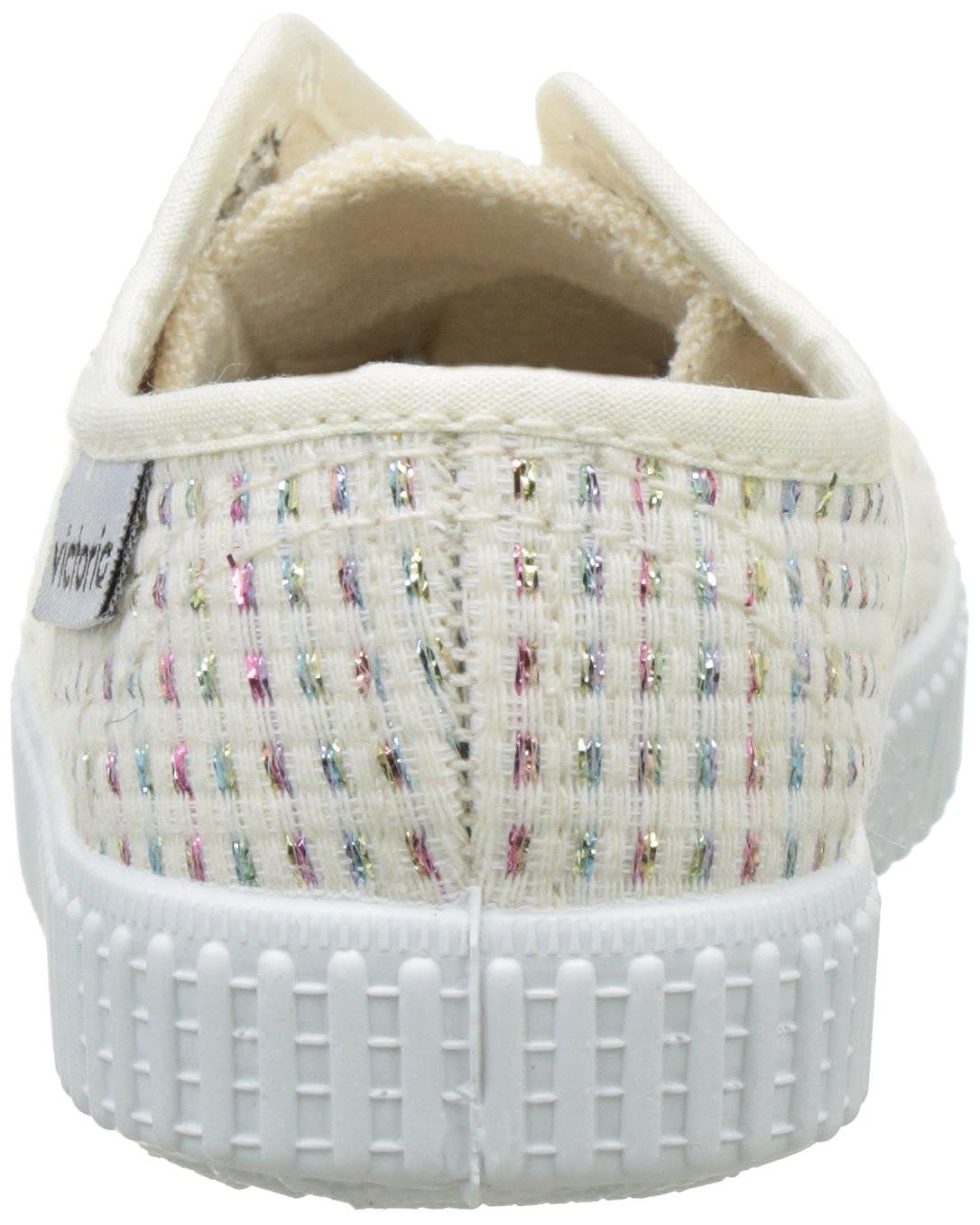 Zapatillas Unisex beb/é victoria Inglesa El/ástico Lurex