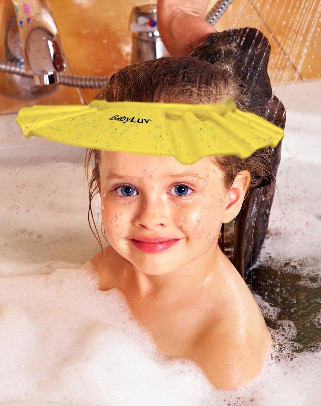 Amazon BabyLuv174 Comfortable Baby Child Bath Visor Shower Cap