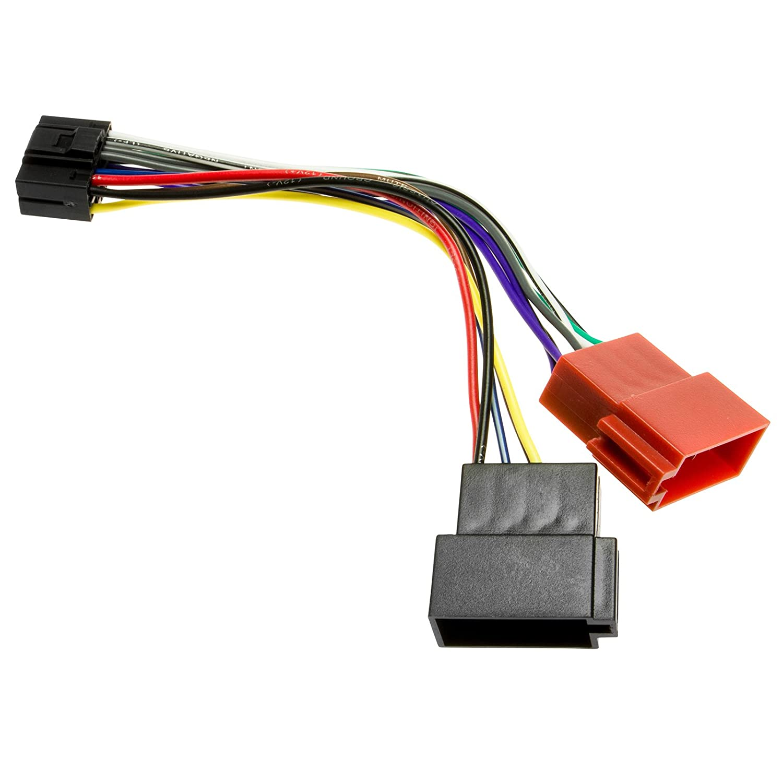 Kenwood DIN ISO Autoradio Adapter Kabel Stecker KDC usw: Amazon.de ...