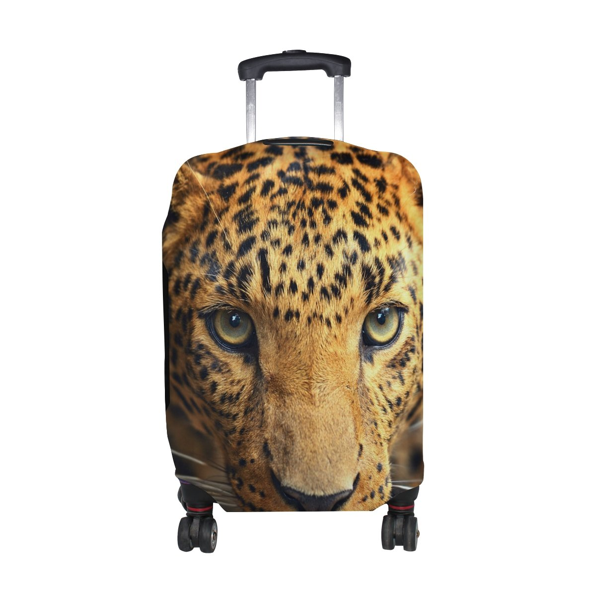 Leopard Pattern Print Luggage Cover Travel Suitcase Protector Fits 29-32 Inch Luggage