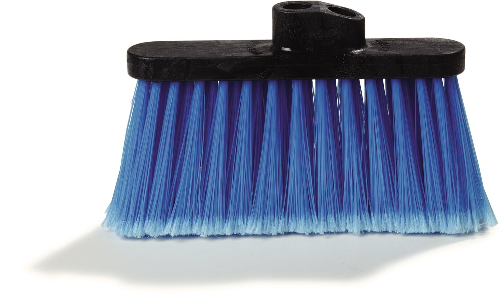 Carlisle 3685314 Duo-Sweep Light Industrial Broom Head, 4'' Long Blue Synthetic Bristles, 13'' W x 7'' H Overall (Case of 12) by Carlisle (Image #3)