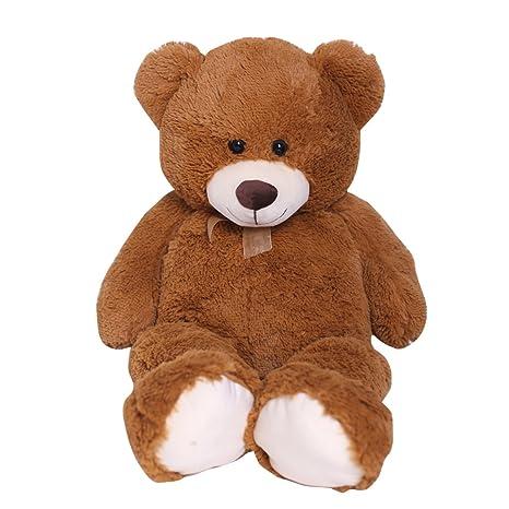 7929eedd262f9 Amazon.com  HollyHOME Teddy Bear Plush Giant Teddy Bears Stuffed Animals Teddy  Bear Love 36 inch Brown  Toys   Games