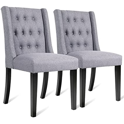 Peachy Amazon Com Giantex Set Of 2 Dining Chairs Modern Side Gmtry Best Dining Table And Chair Ideas Images Gmtryco