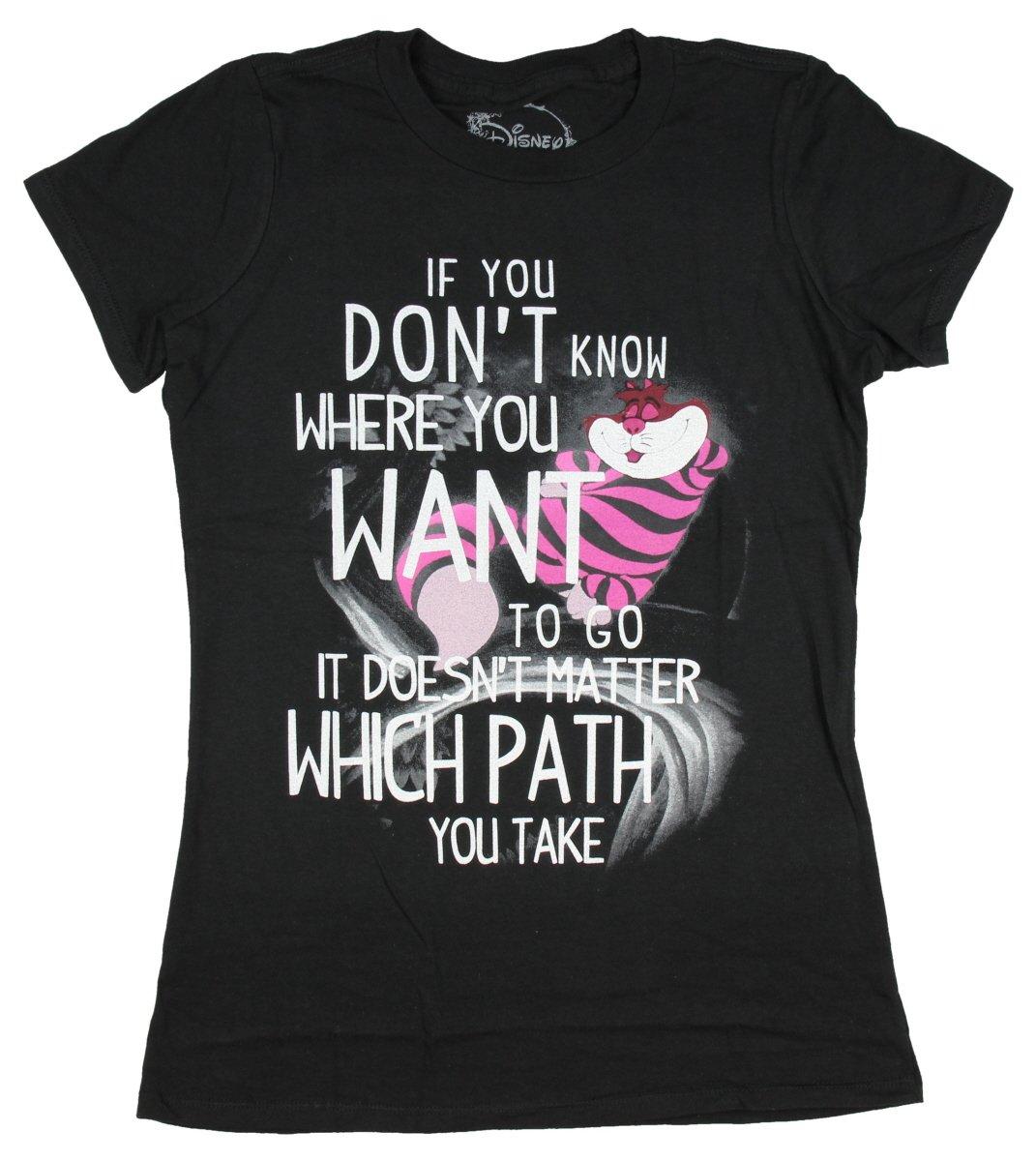 Disney Girls Alice In Wonderland Cheshire Cat T-Shirt