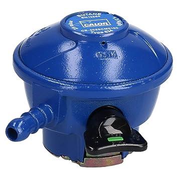 Verdadero Calor Gas Butano Clip-On regulador 21mm 29mbar estufa calefactor: Amazon.es: Bricolaje y herramientas