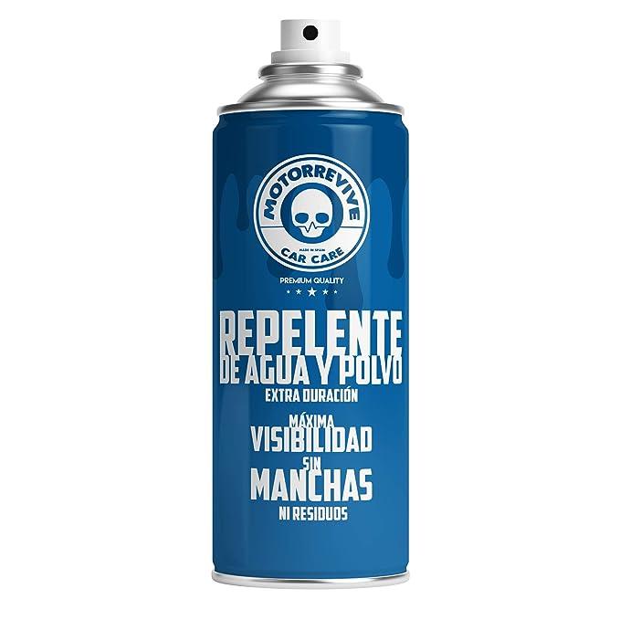 MOTORREVIVE CAR CARE 8437015902036 Repelente Agua y Polvo para Coche Azul 400 ml: Amazon.es: Coche y moto