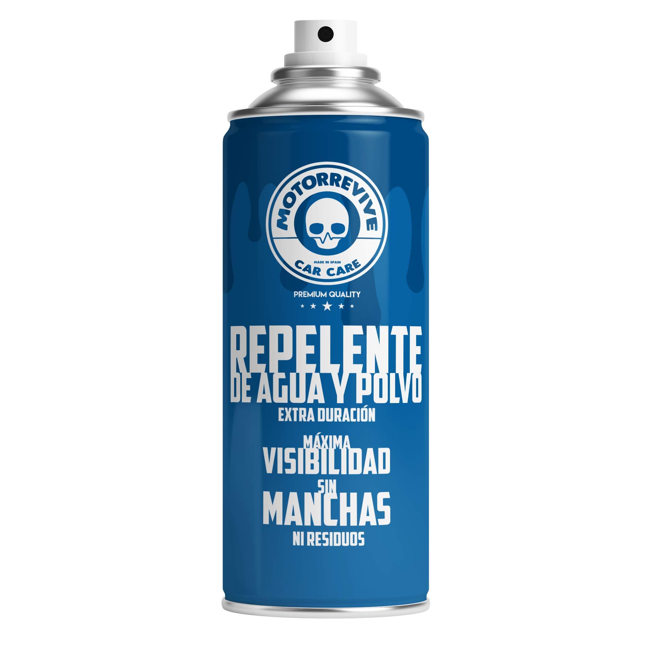 MOTORREVIVE CAR CARE 8437015902036 Repelente Agua y Polvo para Coche Azul 400 ml product image