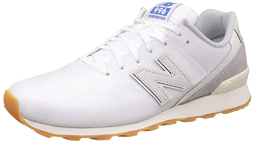 new balance Women s 996 White Sneakers - 6 UK India (39 EU) (8 US ... 98dc72db4d33