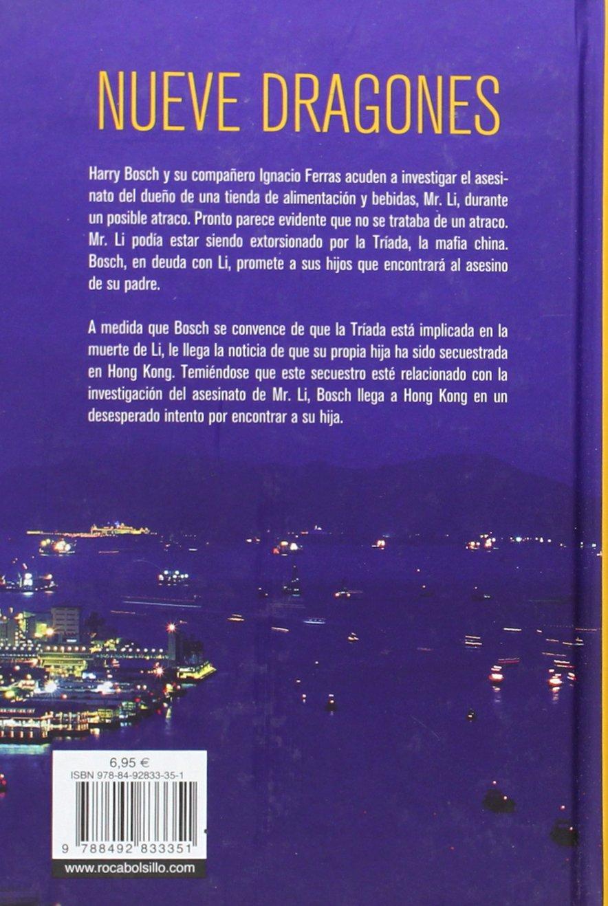 Amazon.com: Nueve dragones (Harry Bosch) (Spanish Edition) (9788492833351): Michael  Connelly: Books