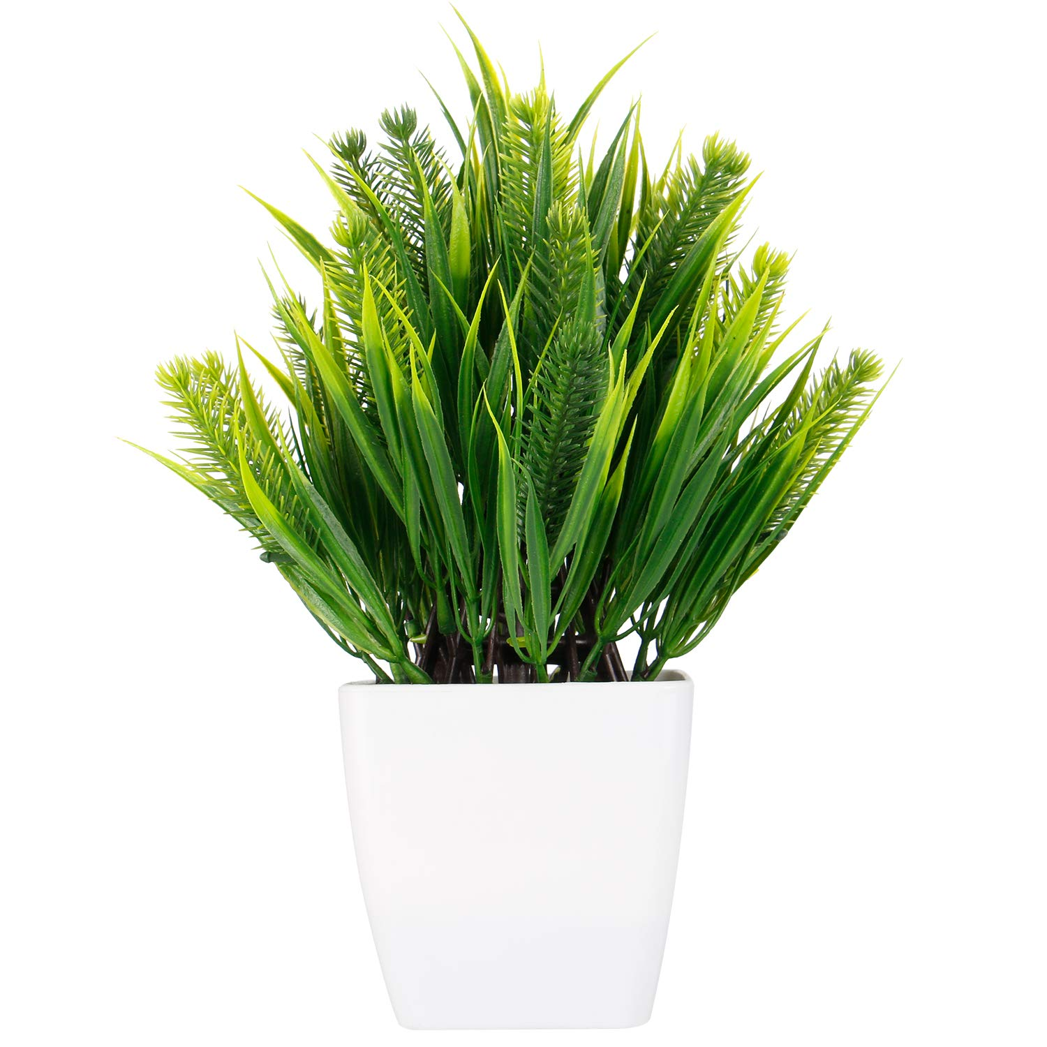 WOODWORD Artificial Plants for Room Decor   Potted Fake Plants for ...