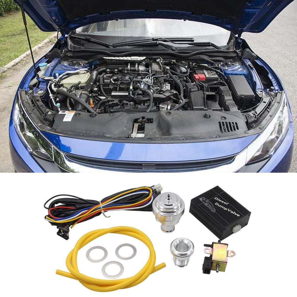 Blow Off Valve kit Automobile Modified Diesel Engine Pressure Relief Electronic Bleed Comaie®