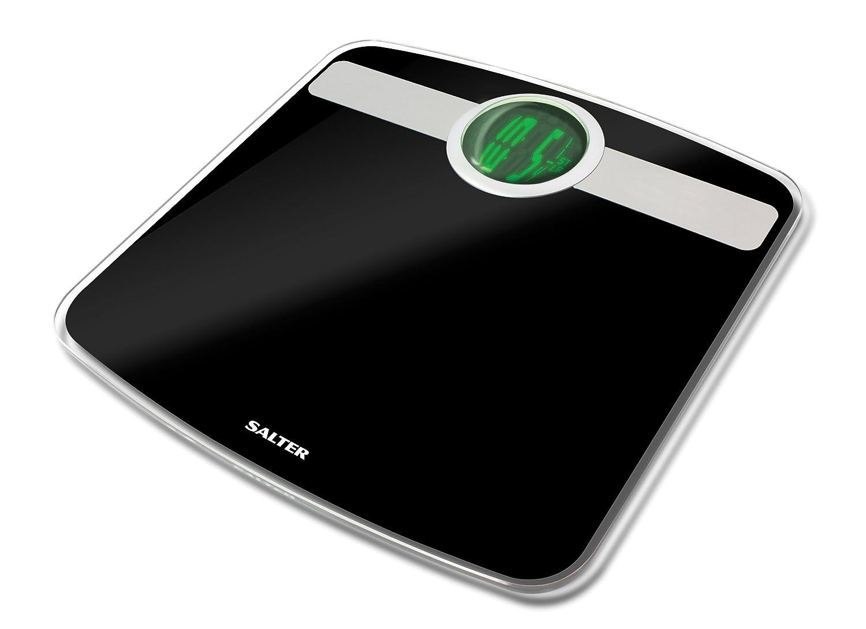 Salter Easyview Digital Analyser Bathroom Scale 9172 Bk3r Black