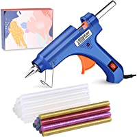 Hot Glue Gun,TOPIND Mini Hot Melt Glue Gun Kit with 40 Pcs Glue Sticks,High Temp Glue Gun for DIY Craft,Home Quick…