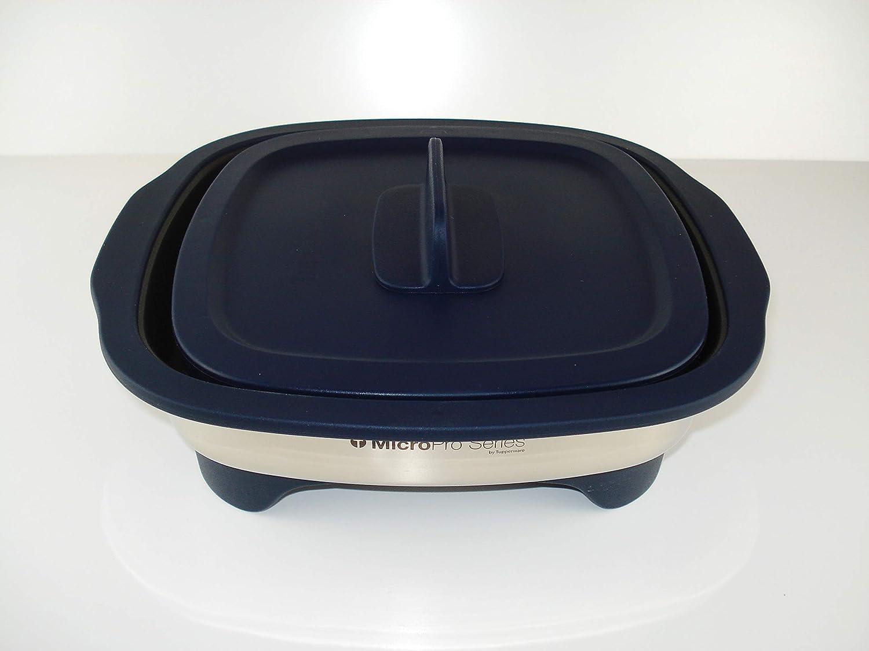 Tupperware MicroPro - Recipiente para asar color azul oscuro, para ...