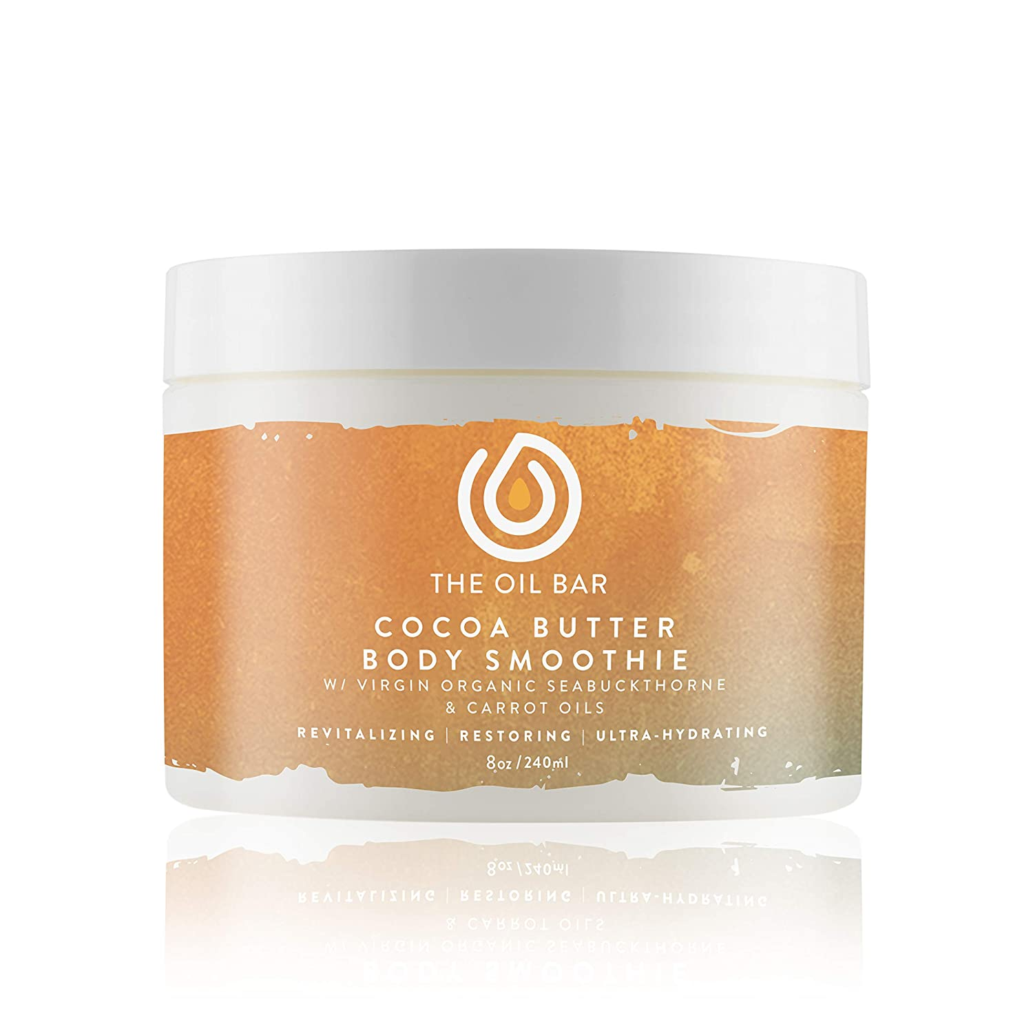 The Oil Bar Cocoa Butter Body Smoothie with Virgin Organic Seabuckthorn Fruit Oil (Cashmere Mist Type W)