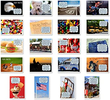QUOTES postcard set of 20 Made in USA. Post card variety pack with famous quote postcards