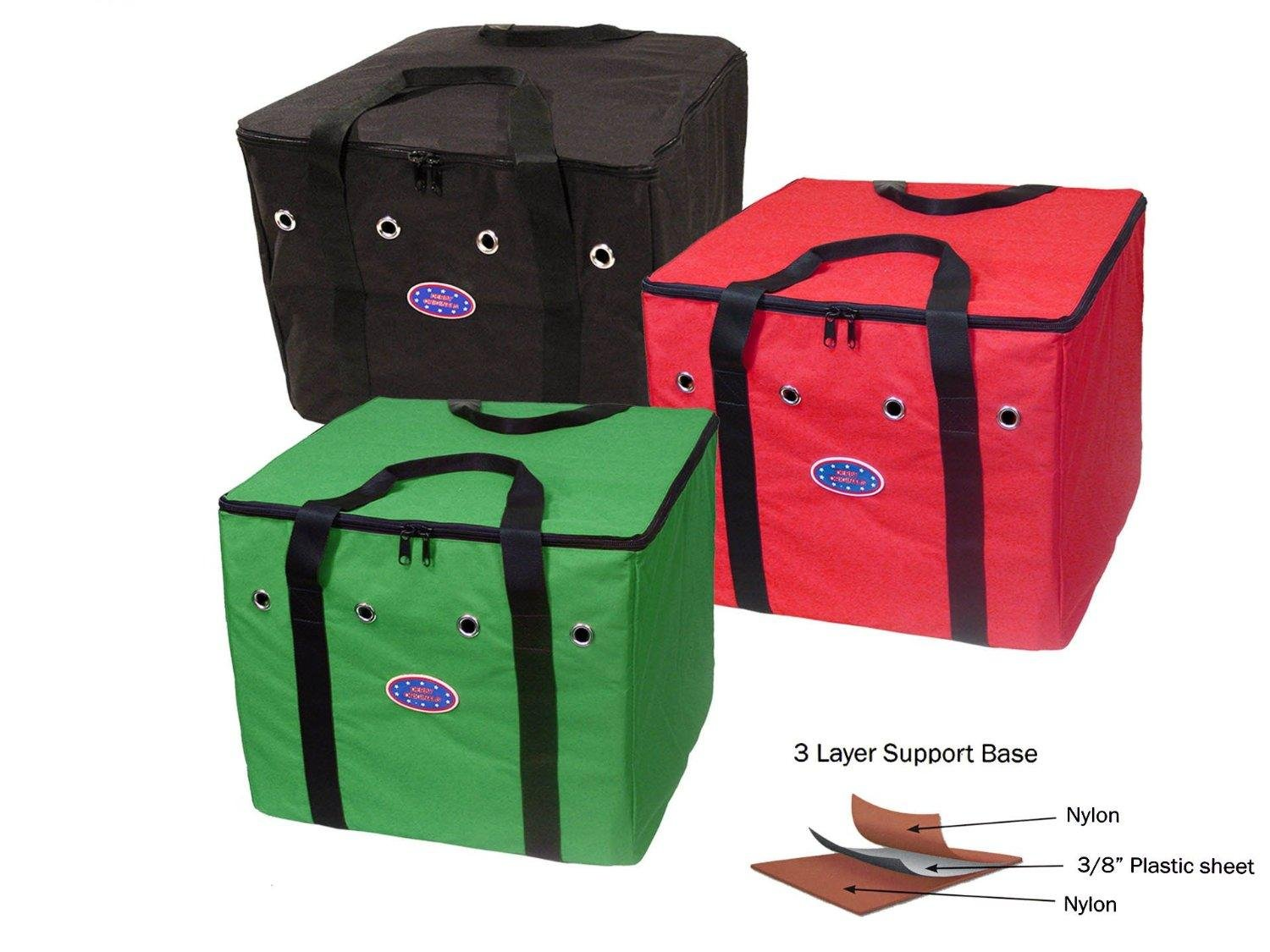 Derby Originals Breathable Heavy Duty Three Layered Bottom Half Bale Hay Bale Bags by Derby Originals