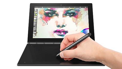Lenovo ZA150015GB Yoga Book 10.1-Inch Black Touch Laptop - (Quad Core Atom X5-Z8550, 4GB RAM, 64GB eMMC, Intel HD Graphics, Win10 Pro) - Carbon Black