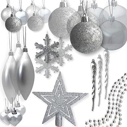 Amazoncom Banberry Designs Shatterproof Christmas Ornaments