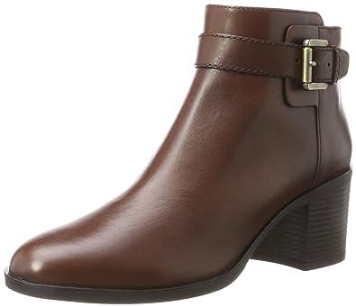 Geox Damen D Audalies Mid B Stiefel: : Schuhe