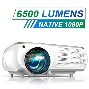Proyector nativo 1080P, proyector de vídeo TOPTRO con ...