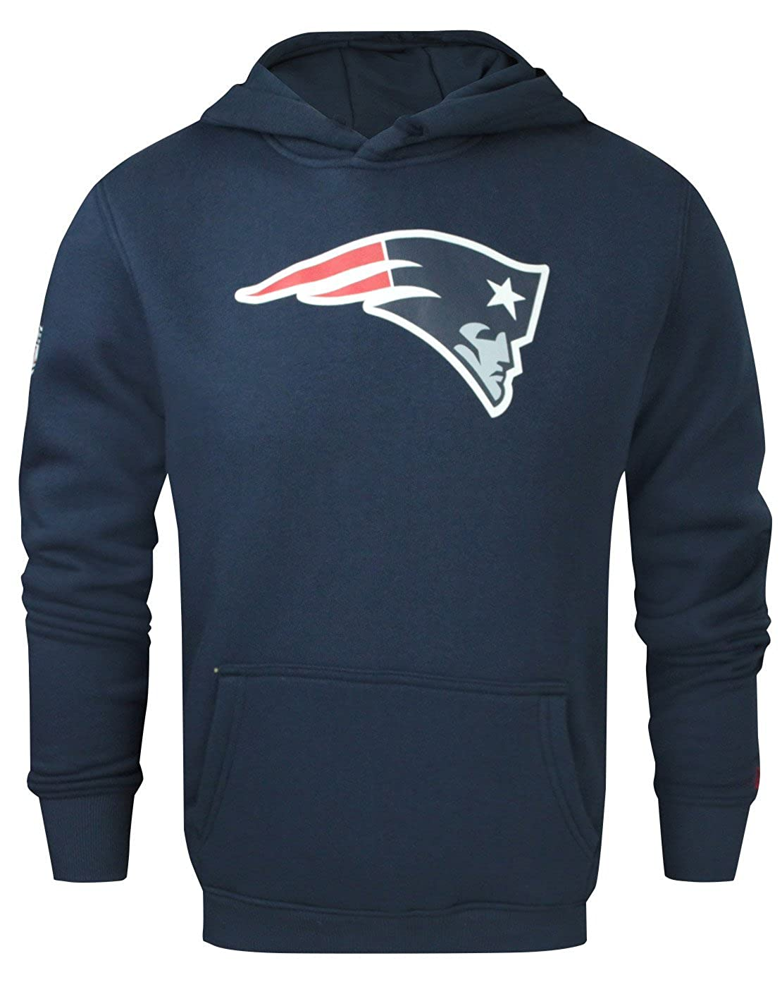 New Era NFL New England Patriots Men s Hoodie (XS)  Amazon.co.uk  Clothing 0322b36a3