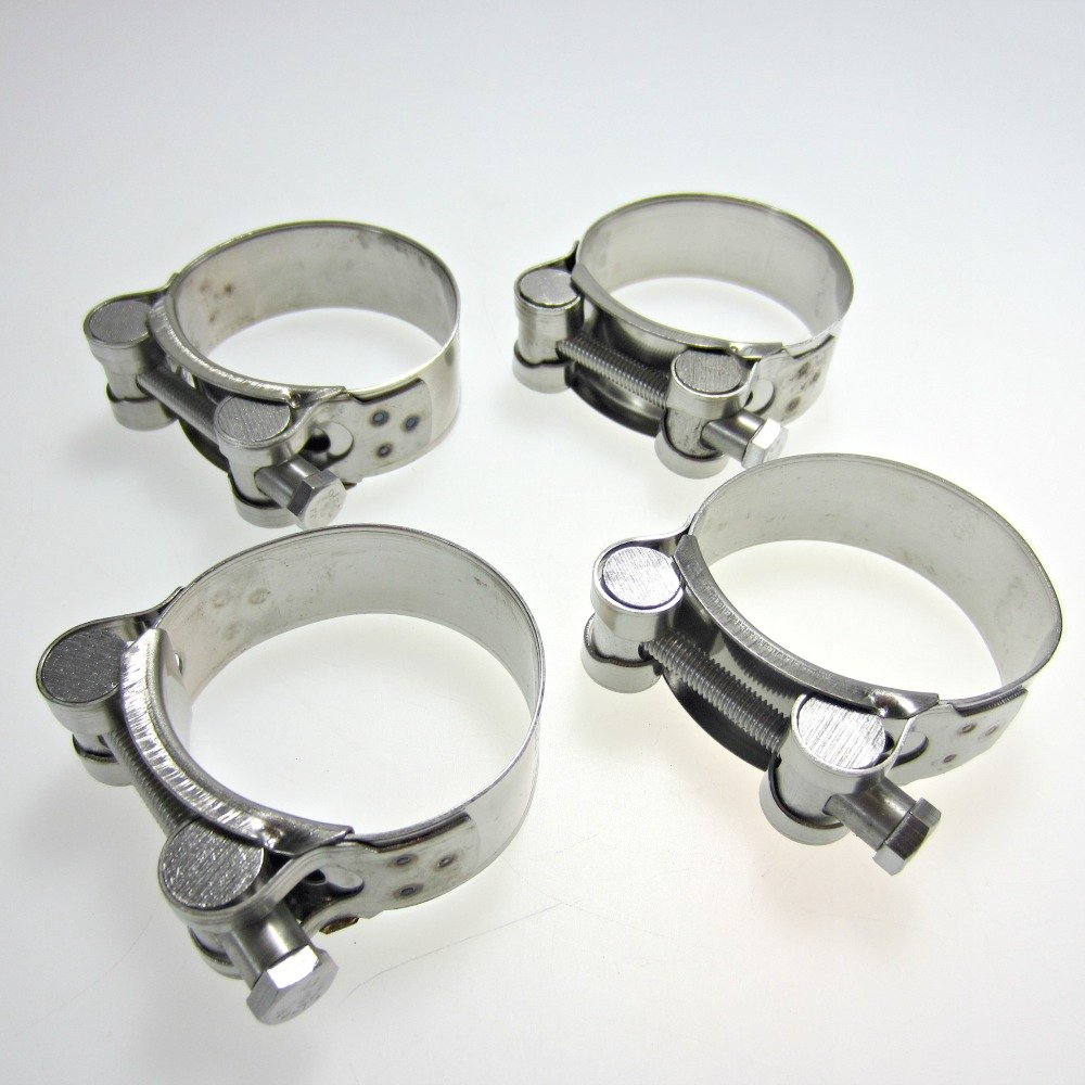 Stainless Steel Motorcyclel Exhaust Clamp 48-51mm x4 MPW