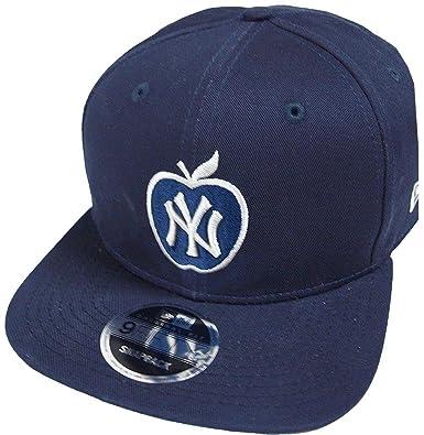 buy online 24cb9 130fa New Era New York Yankees Navy Apple MLB Snapback Cap 9fifty Limited Edition
