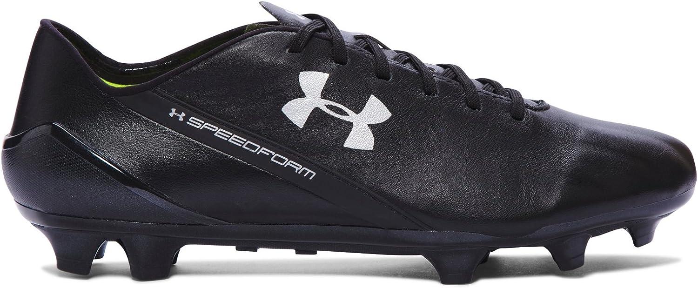 Under Armour Speedform CRM Leather FG Boots - Adult - Black Graphite -