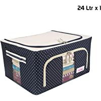 BlushBees® Living Box - Storage Boxes for Clothes, Saree Cover