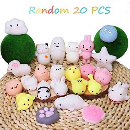 Figurines & Miniatures Home Decor 20 Pcs New Mochi Panda Bear Soft Squeeze Toys Cute Healing Toy Kawaii Collection Stress Reliever Gift Decor Toy For Children