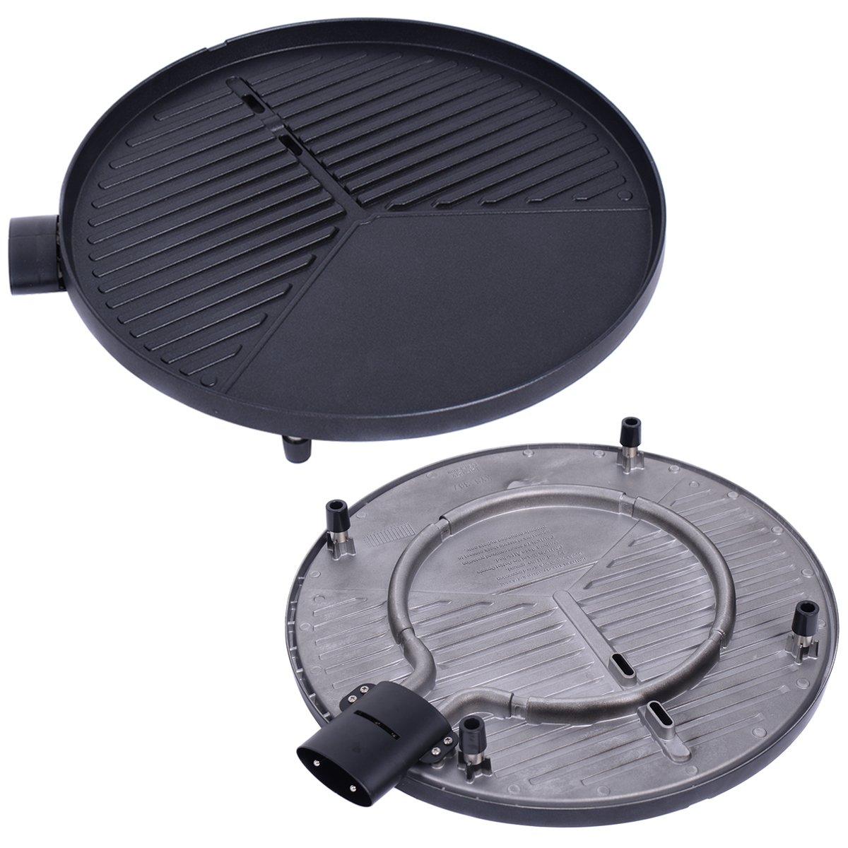 COSTWAY 1350W Indoor/Outdoor Electric BBQ Grill, Black by COSTWAY (Image #6)