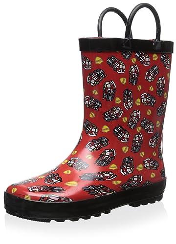 c78e461cc925 Lilly of New York Kid s Fire Truck Rain Boot