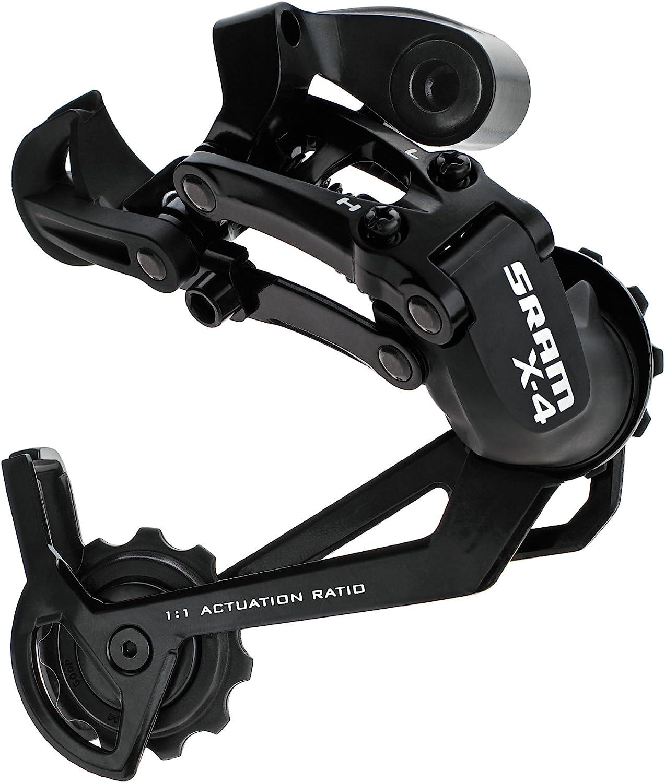 Black Sram MTB X3 Rear Derailleur 7-8 Speed Long Cage