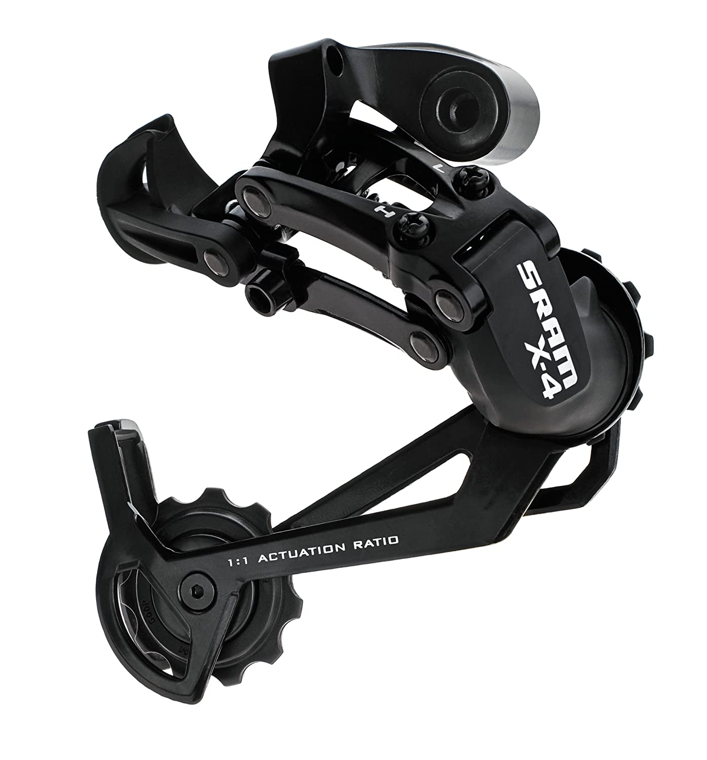 SRAM X.4 Rear Derailleur, Black, Long Cage 141970