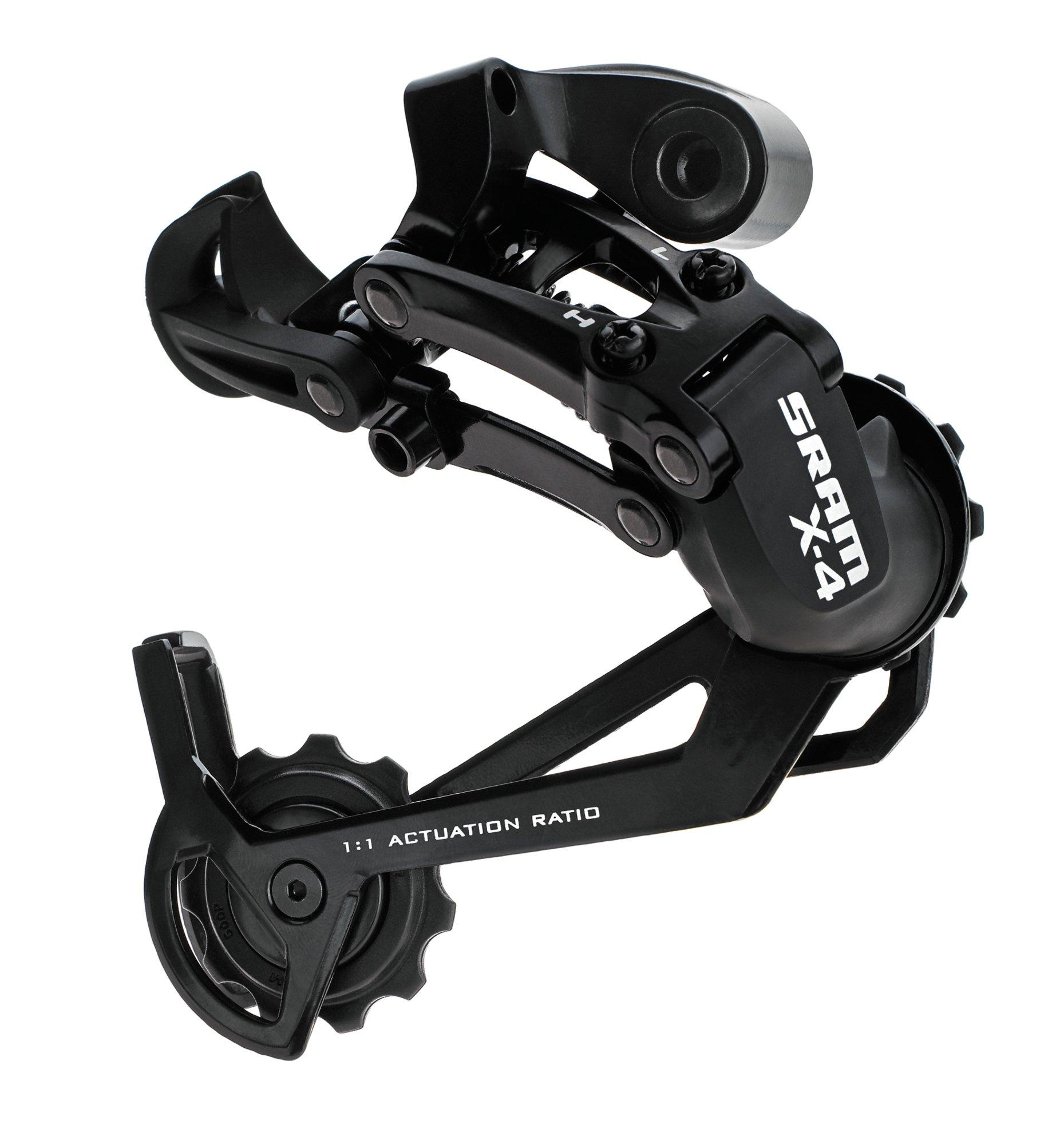 SRAM X.4 Rear Derailleur (Black, Long Cage)