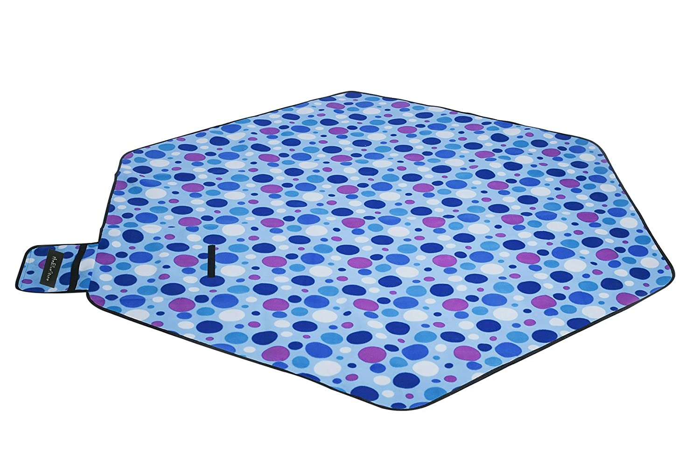 220*220cm Hexagon Picnic Garden Mat Blanket Rug for Camping Outdoor Using theBlueStone
