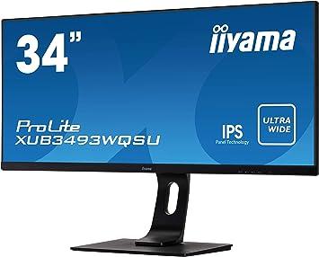 Monitor pc 34 pollici iiyama prolite xub3493wqsu-b1 86,7cm (34