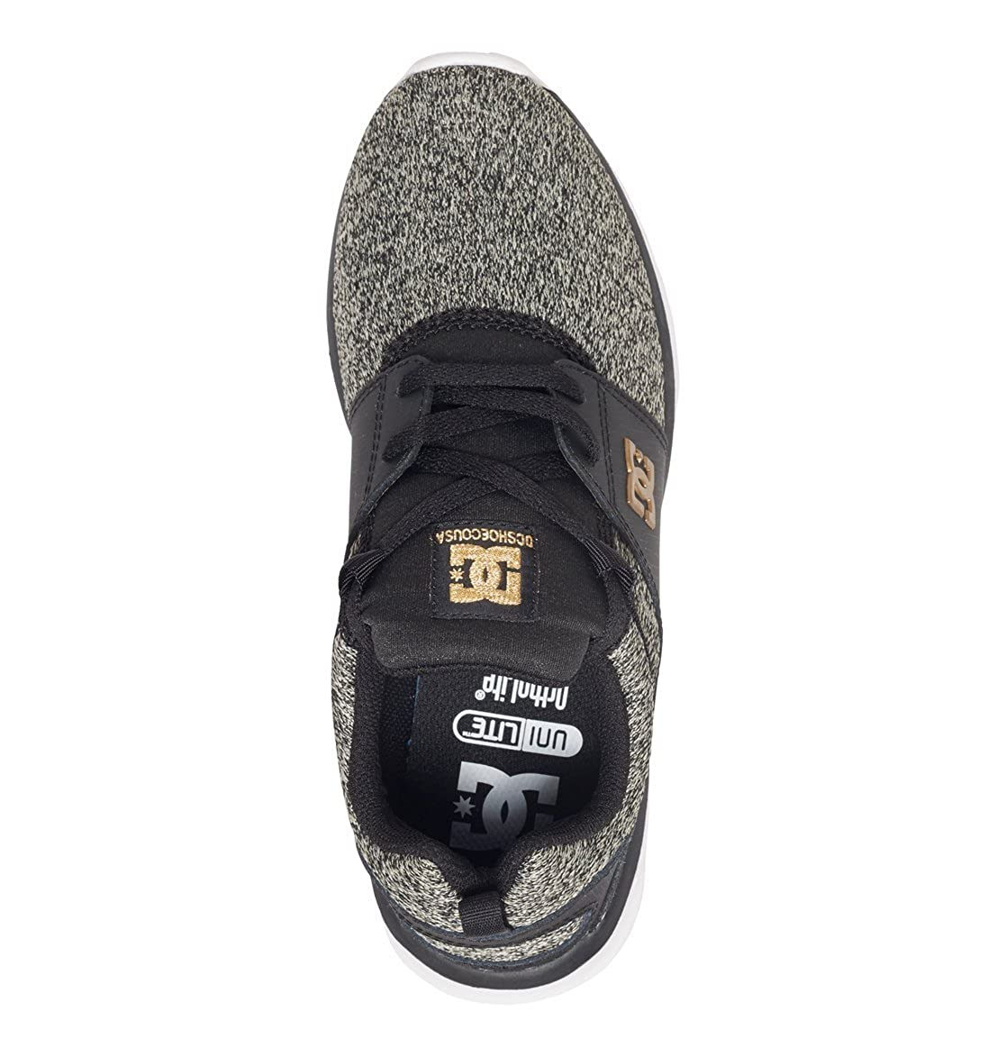 DC Se Schuhes Damen Heathrow Se DC Sneakers Schwarz (schwarz Dark Used - Bkz) 39772f