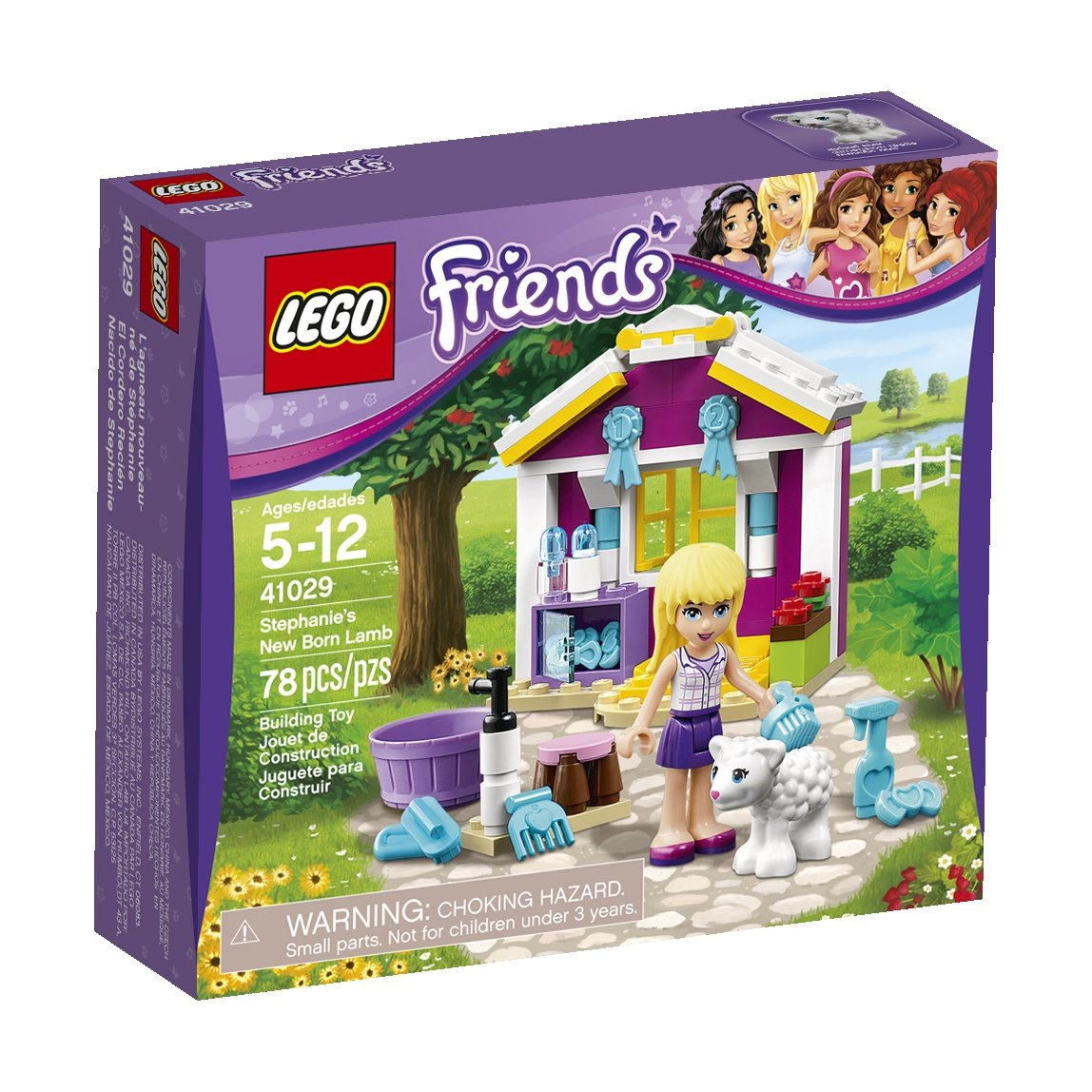 Amazon LEGO Friends 41029 Stephanies New Born Lamb Toys Games