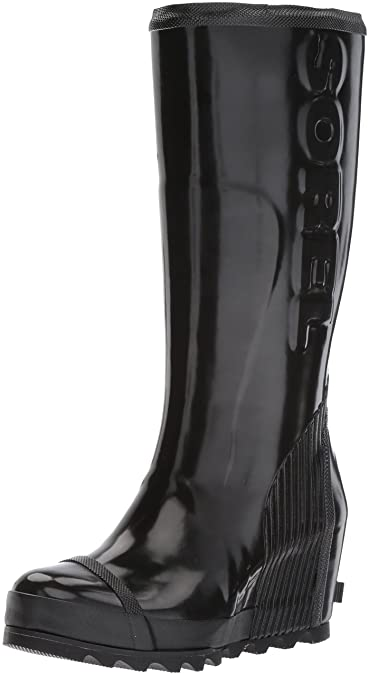 506d9d3e68ad SOREL Women s Joan Rain Wedge Tall Gloss Boot