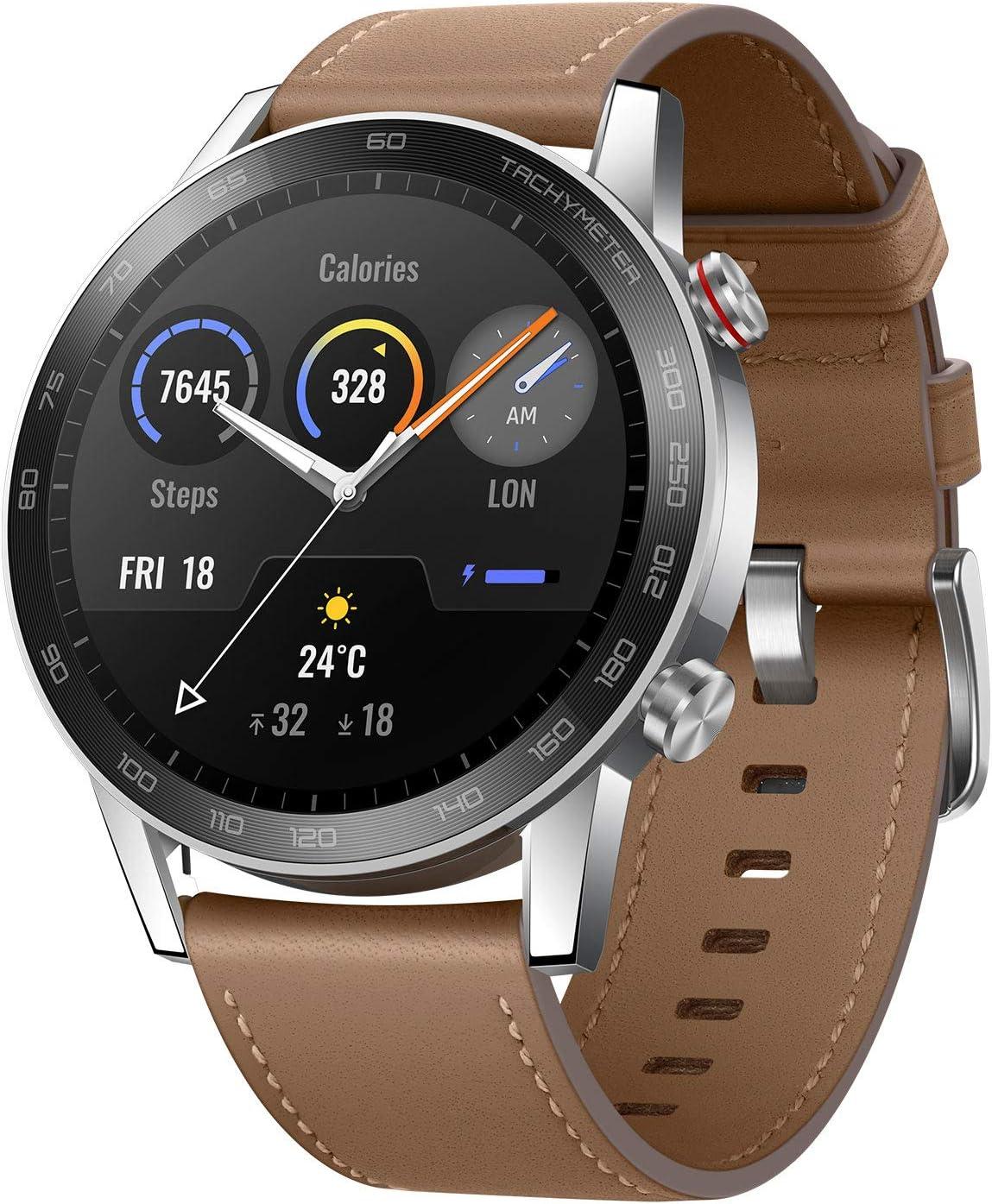 HONOR Smartwatch Magic Watch 2 46mm (hasta 2 Semanas de Batería, Pantalla Táctil AMOLED de 1.39