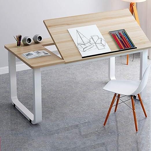 LUXDAMAI Redacción Table,tiltable Mesas para Ordenador,Grande ...