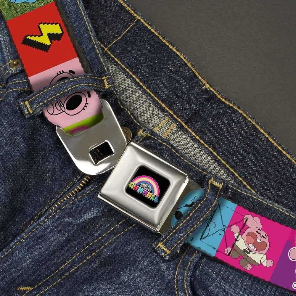 20-36 Inches in Length 1.0 Wide TAWG Gumball//Darwin//Dad Blocks Buckle-Down Seatbelt Belt