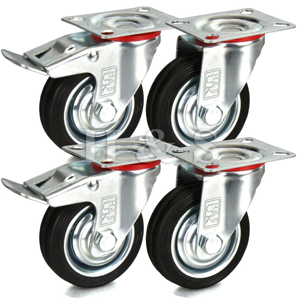3 trolley wheels