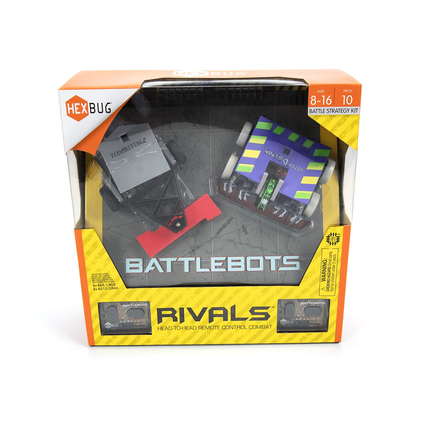 HEXBUG BattleBots Rivals (Tombstone and Witch Doctor) by HEXBUG (Image #2)