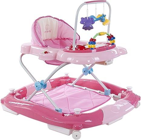 Sun Baby Super Lux - Andador para bebé, color rosa: Amazon.es: Bebé