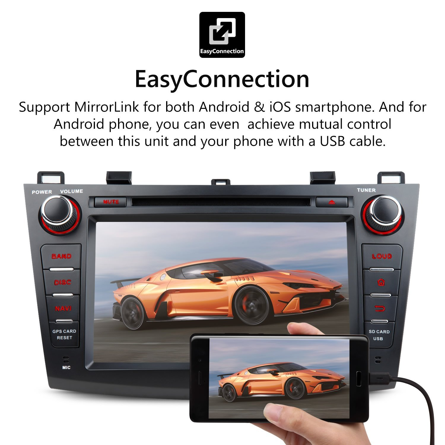 Eonon Ga8163 Car Stereo Radio Android 71 Nougat In Dash To Fix No Communication Bus Wiring Problems For 2004 Mazda Vehicles Gps Navigation Touch Screen Audio 3 Series 2010 2013 Quad Core 2gb Ram
