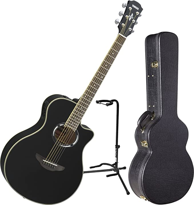 Yamaha apx500iii BL Thinline acústica guitarra eléctrica Negro w ...